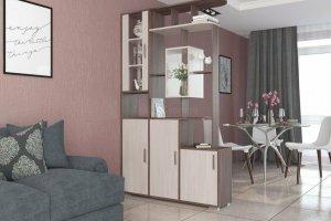 Стеллаж двухсторонний Нова - Мебельная фабрика «Гранд Кволити»