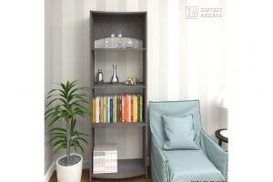 Стеллаж КМ 30 волна - Мебельная фабрика «Кортекс-мебель»