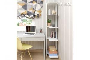 Стеллаж КМ 31 угловой - Мебельная фабрика «Кортекс-мебель»