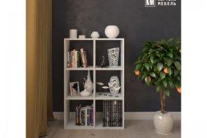 Стеллаж КМ 33 6-секций - Мебельная фабрика «Кортекс-мебель»