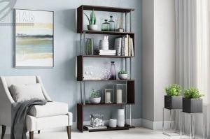 Стеллаж книжный ЛДСП - Мебельная фабрика «Стиль»
