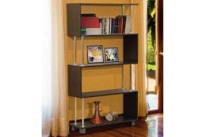 Стеллаж книжный пристенный 3 - Мебельная фабрика «Юнона»