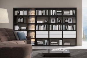 Стеллаж комбинированный Haus - Мебельная фабрика «Sofmann»