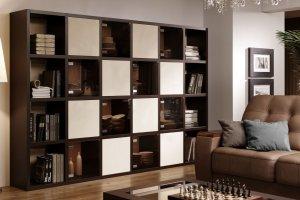Стеллаж контрастный Haus - Мебельная фабрика «Sofmann»