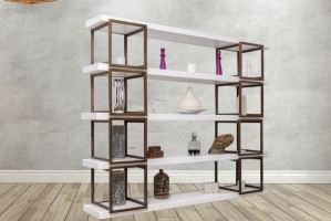 Стеллаж Куб - Мебельная фабрика «Лидер Массив»
