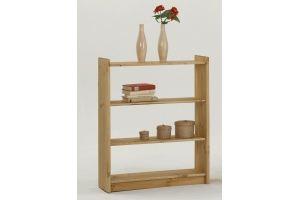 Стеллаж Лилия 1 из натурального дерева - Мебельная фабрика «Дубрава»