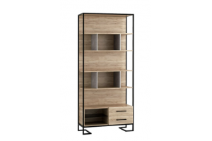 Стеллаж Loft Дуб натур - Мебельная фабрика «Perrino»
