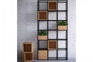 Стеллаж Лофт Мануфактура - Мебельная фабрика «Loft Zona»