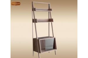 Стеллаж Марокко 2 массив дуба - Мебельная фабрика «Лидер Массив»