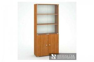 Стеллаж Миг со стеклом - Мебельная фабрика «Мебель СБК»