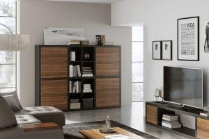 Стеллаж пристенный Haus - Мебельная фабрика «Sofmann»
