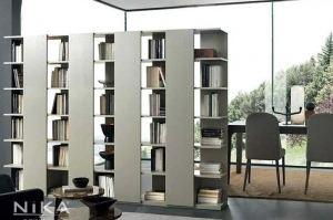Стеллаж разделительный книжный Копенгаген STL8 - Мебельная фабрика «NIKA premium»