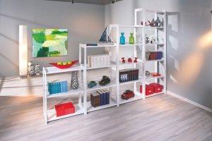 Стеллаж Рига набор  массив - Мебельная фабрика «Дубрава»