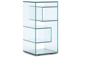 Стеллаж стеклянный Crisstall-04 - Мебельная фабрика «Antall»