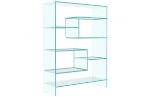 Стеллаж стеклянный Cristall-06 - Мебельная фабрика «Antall»