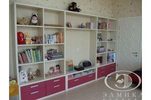 Стеллаж в детскую комнату - Мебельная фабрика «Элмика»