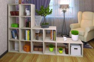 Стеллаж в комнату - Мебельная фабрика «НАРУС»