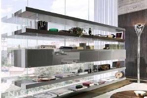 Стеллаж в современном стиле Рига STL13 - Мебельная фабрика «NIKA premium»