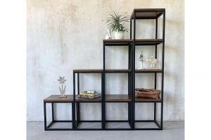 Стеллаж в стиле LOFT - Мебельная фабрика «СК»