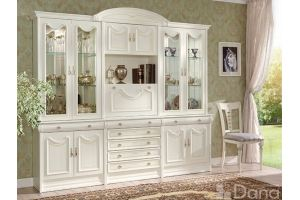 Стенка Андалусия 62 - Мебельная фабрика «Дана»