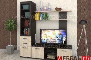 Стенка - Азалия 1 ЛДСП - Мебельная фабрика «МЕБЕЛЬ ПРОСТО»