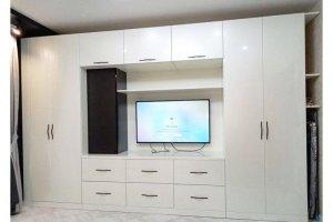 Стенка белая в гостиную - Мебельная фабрика «Вестра»