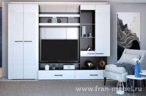 Стенка Дениза (Флоренция) - Мебельная фабрика «Фран»
