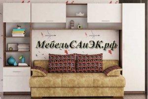 Стенка для детской комнаты 023 - Мебельная фабрика «САнЭК»