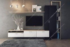 Стенка для гостиной Амели - Мебельная фабрика «Вента Мебель»