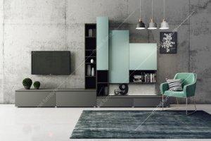 Стенка для гостиной Амели ВГ 11 - Мебельная фабрика «Вента Мебель»