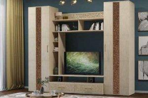 Стенка для гостиной Бэлла - Мебельная фабрика «Первомайское»