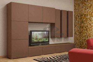 Стенка для гостиной эмаль ГЭМ 11 - Мебельная фабрика «ALDO»