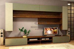 Стенка для гостиной эмаль ГЭМ 14 - Мебельная фабрика «ALDO»