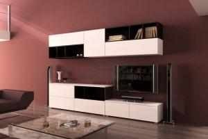 Стенка для гостиной эмаль ГЭМ 15 - Мебельная фабрика «ALDO»