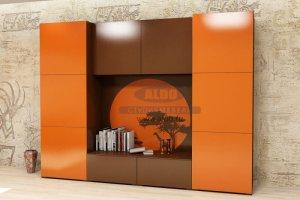 Стенка для гостиной эмаль ГЭМ 6 - Мебельная фабрика «ALDO»