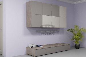 Стенка для гостиной эмаль ГЭМ 7 - Мебельная фабрика «ALDO»