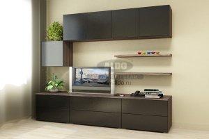 Стенка для гостиной эмаль ГЭМ 9 - Мебельная фабрика «ALDO»