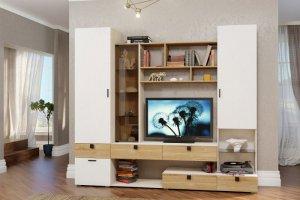 стенка для гостиной ФРАНКО - Мебельная фабрика «Ник (Нижегородмебель)»