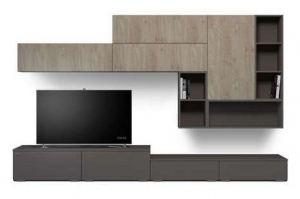 Стенка для гостиной INTRO 203.28 - Мебельная фабрика «ROSS»