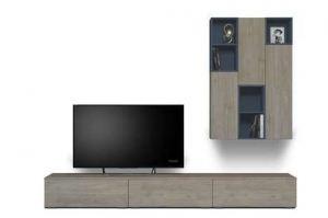 Стенка для гостиной INTRO 401.27 - Мебельная фабрика «ROSS»