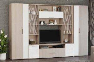 Стенка для гостиной Каролина - Мебельная фабрика «Первомайское»