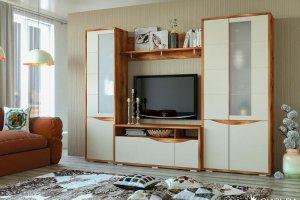 Стенка для гостиной Монэ - Мебельная фабрика «Сильва»