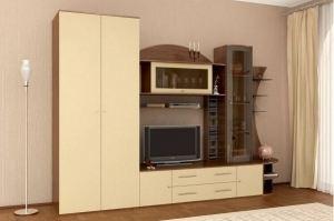 СТЕНКА для гостиной ВАЛЕНТИНА-12 - Мебельная фабрика «Стиль»