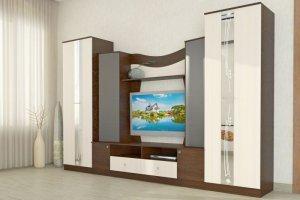 Стенка Гамма 15 - Мебельная фабрика «Алтай-Мебель»