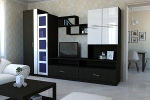 Стенка гостиная Аккорд - Мебельная фабрика «Калина»