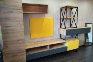 Стенка и стеллаж в комнату подростка - Мебельная фабрика «ВладМебСтрой»