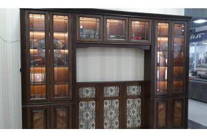 Стенка из массива дуба - Мебельная фабрика «Мебель Парк»