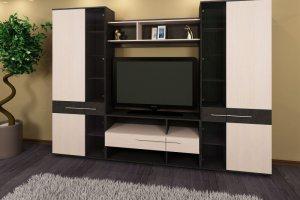 Стенка Камелия 2 - Мебельная фабрика «Трио мебель»