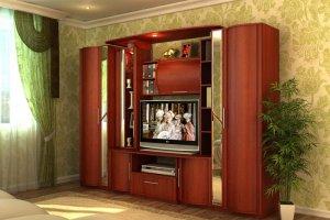 Стенка Кристина 2 - Мебельная фабрика «СМ-Мебель»