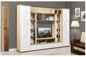 Стенка Лаванда-1 - Мебельная фабрика «Олмеко»